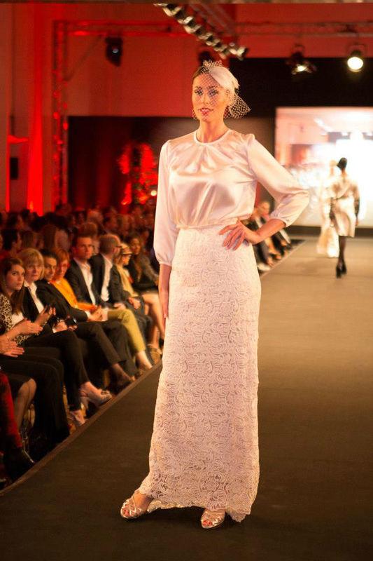 Beispiel: Lili Maras auf Modenschau, Foto: Lili Maras.