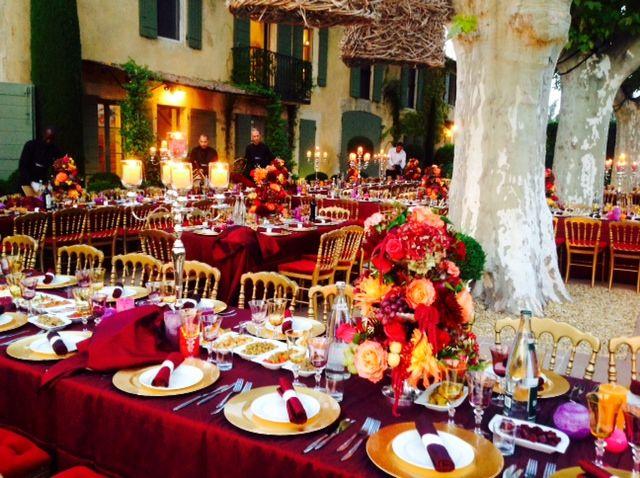 Mariage de Elie & Lauren, Mas à St Rémy de Provence, décoration A Fleur & à Mesure, dîner de shabbat