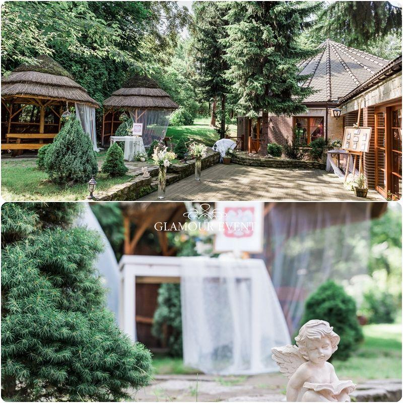 Ślub w stylu rustykalnym z elementami drzewa i natury. fot. Adam Ludwik