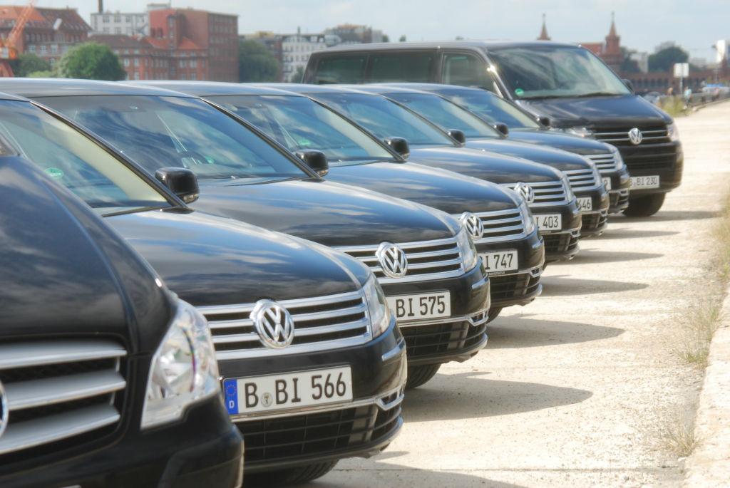 Beispiel: Fahrzeugflotte mit Stil, Foto: BBI Limousine.