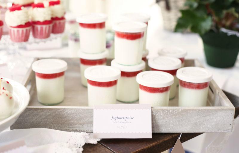 Beispiel: Erdbeer Joghurt, Foto: Zuckermonarchie.