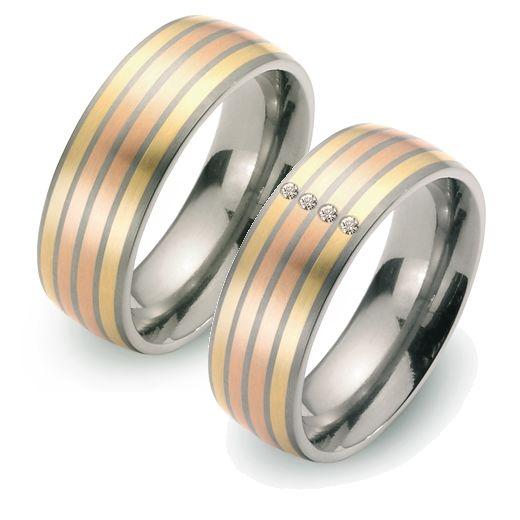 Beispiel: Mehrfarbige Ringe, Foto: Volker Nothdurft.