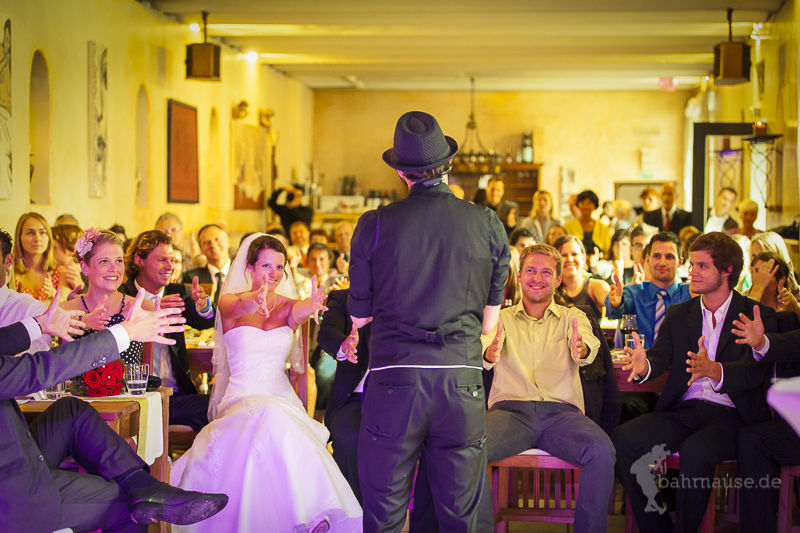 Ein gemeinsames magisches Erlebnis auf der Hochzeit