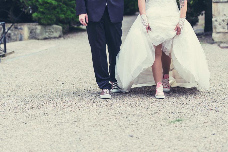 Beispiel: Chucks, Foto: Hochzeitsfotografie Thomas Göbert