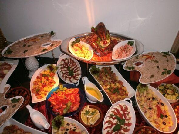 Beispiel: Büffet, Foto: Linials Catering.