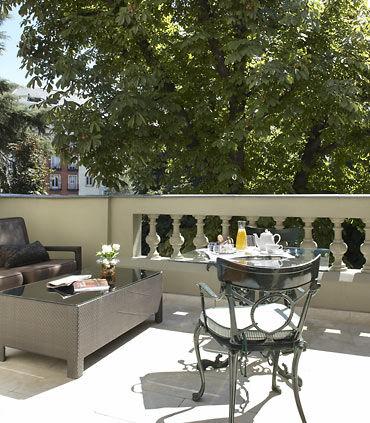 Terraza Suite de Lujo