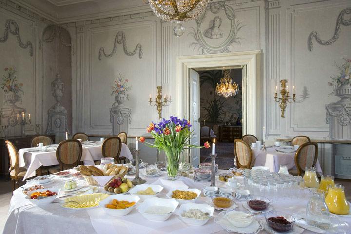 Beispiel: Saal, Foto: Schlosshotel Obermayerhofen.