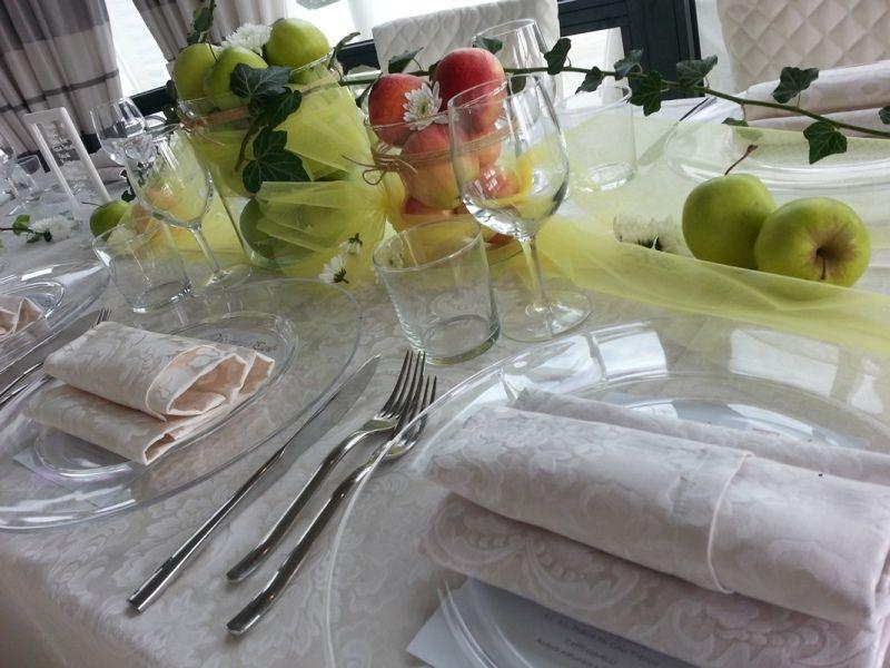La frutta come tema della festa