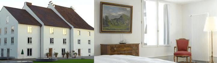 Beispiel: Ruhiges Hotel, Foto: Schloss Binningen - Hotel im Schlosspark.