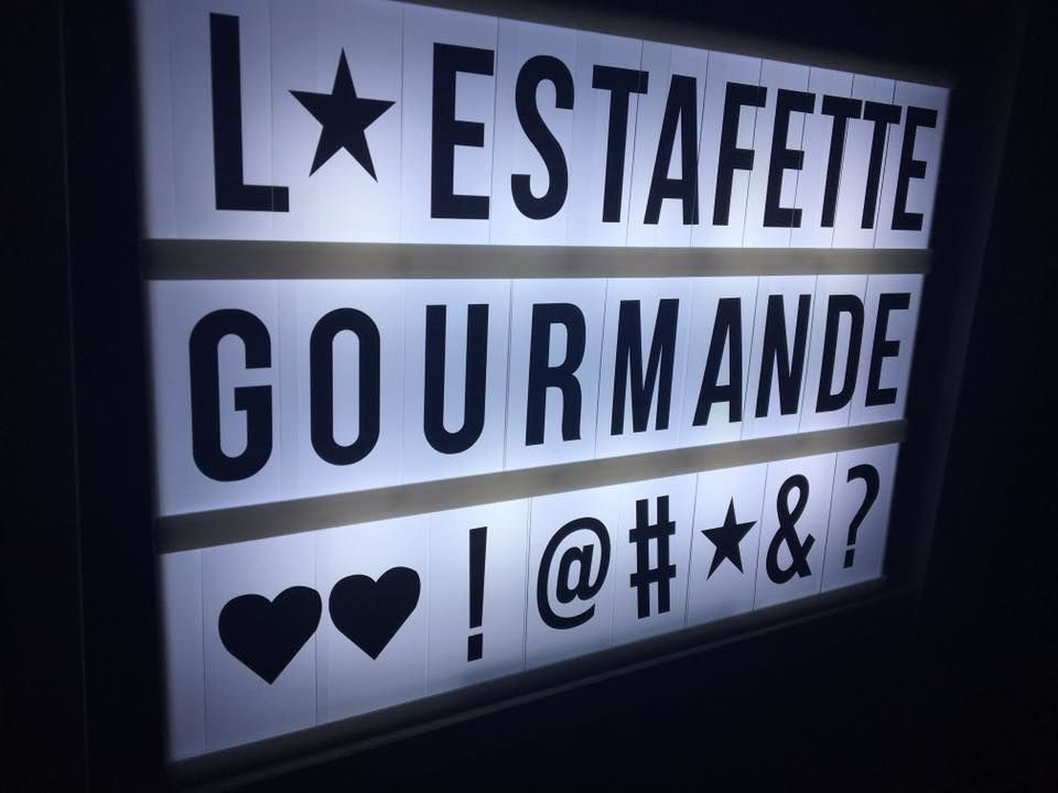 L'estafette gourmande