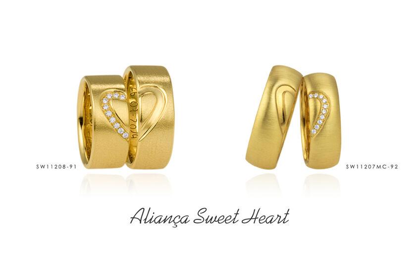 Aliança Sweet Heart