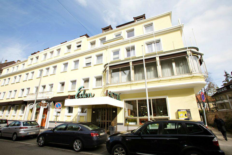 Beispiel: Außenansicht Hotel Eden, Foto: Hotel Eden - Restaurant garbo.