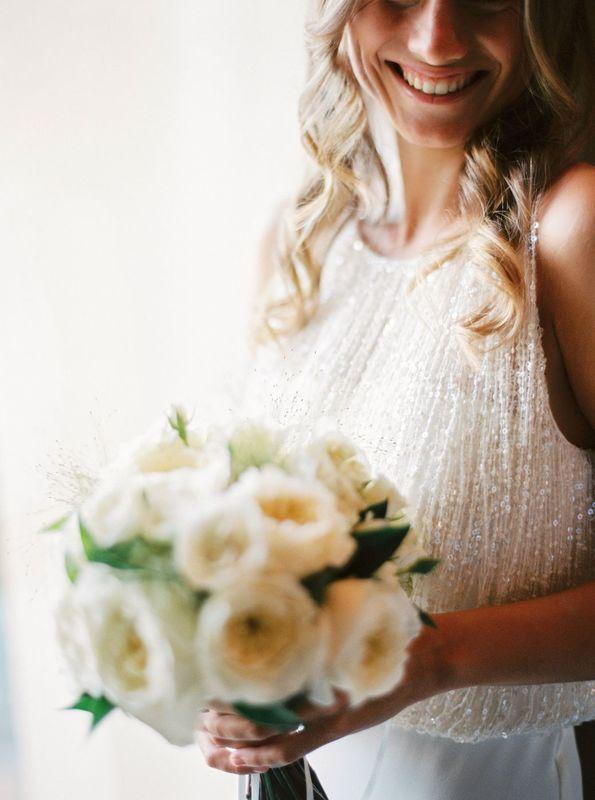 Bouquet de mariée - Création florale Les Fées Nature