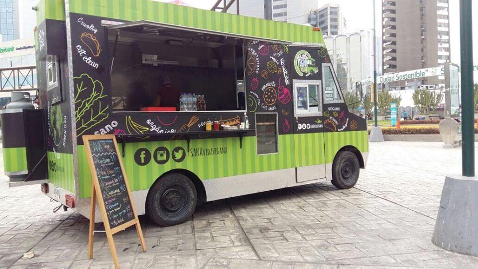 Sana Vegan Truck