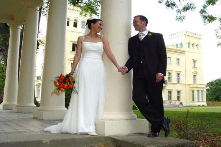 Beispiel: Brautpaar, Foto: Schloss Steinhöfel.