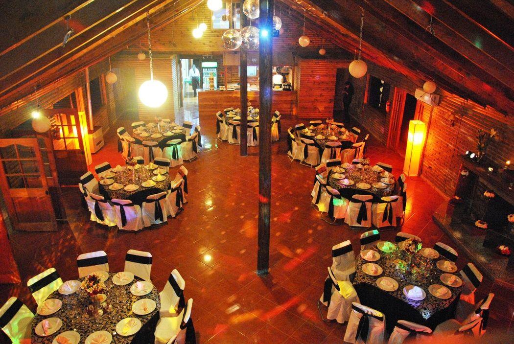 Cena salón interior