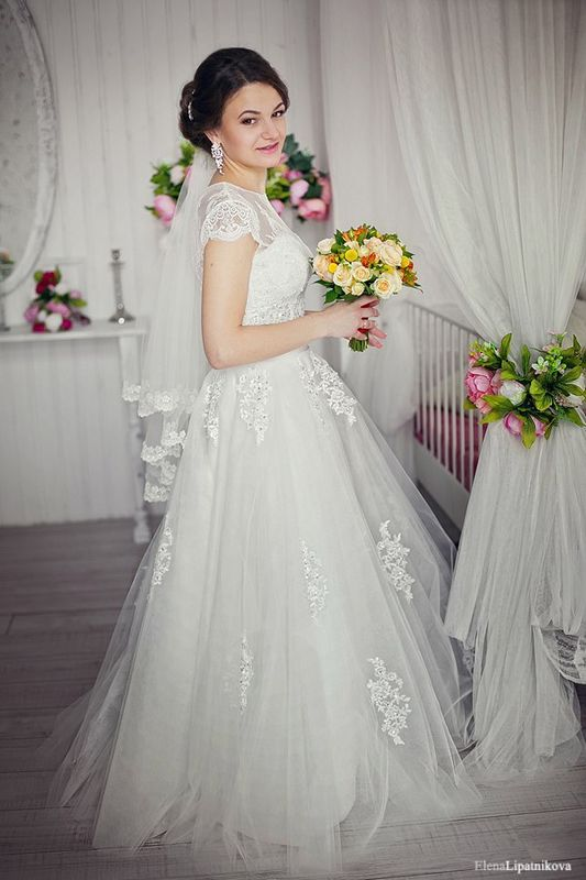 макияж и причёска для невесты Алёны) фотограф - Елена Липатникова