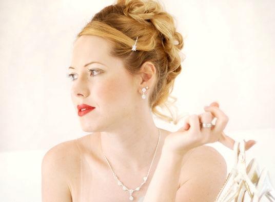 Beispiel: Wunderschönes Make-up für die Braut, Foto: Beautyside.net.