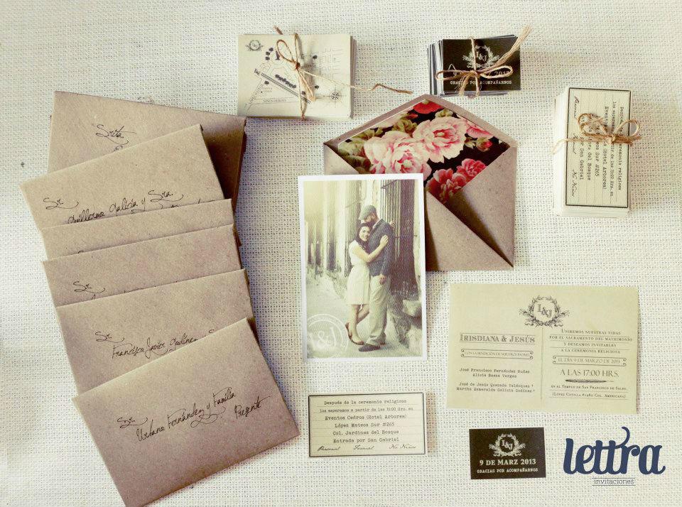 Lettra Invitaciones