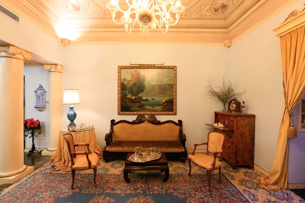 Antica Badia Relais Hotel Sala Colonne  Ph Kam Wai Man Kevin