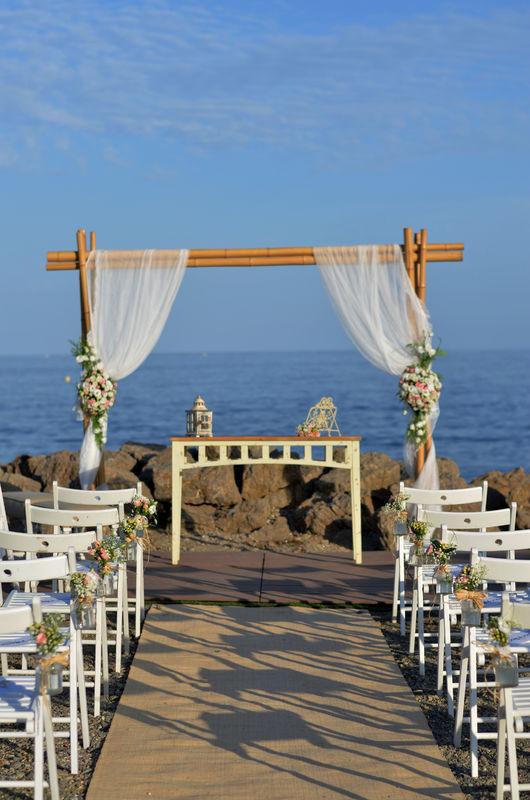 El mejor entorno para bodas de playa