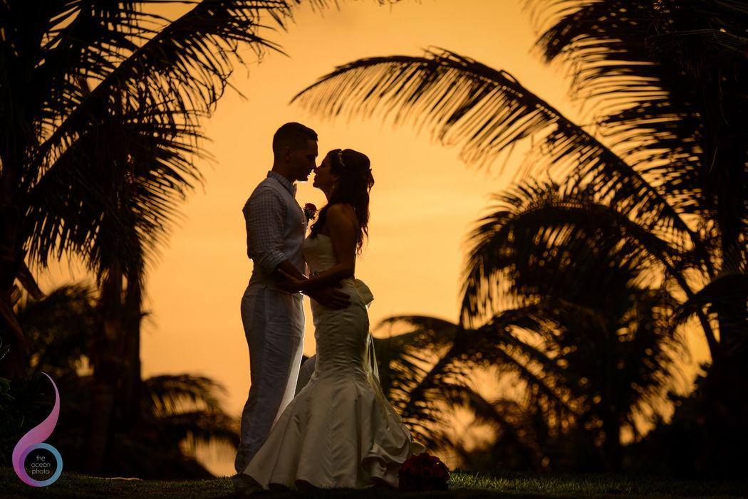 The Ocean Photo Weddings Cuncun Fiesta Americana Condesa Wedding Occidental at Xcaret Destination Riviera Maya photographer