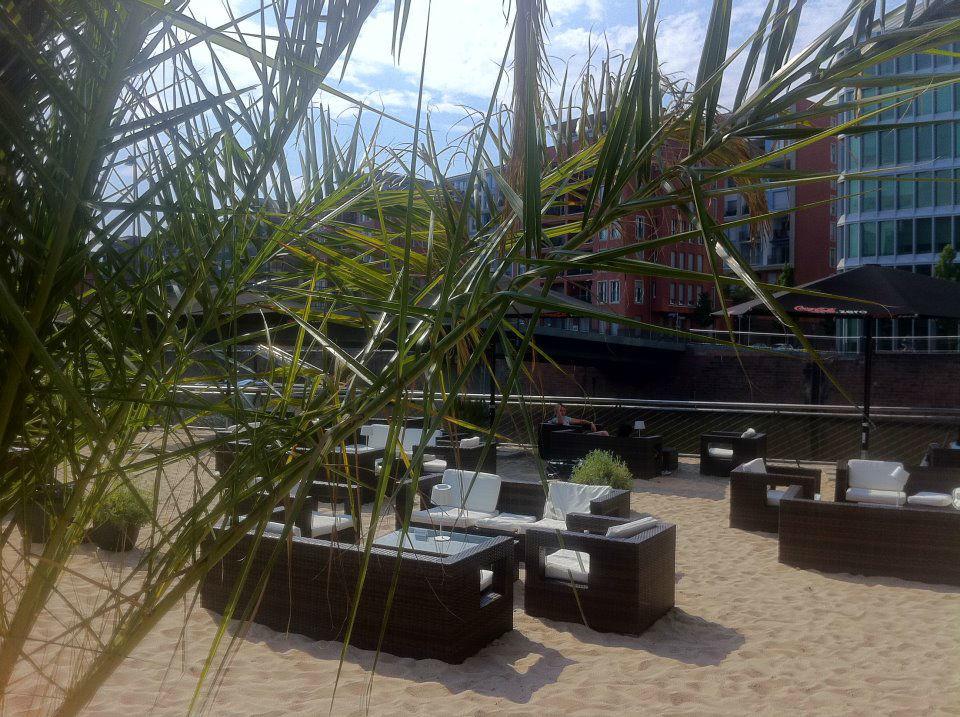 Beispiel: Beach-Garten, Foto: Frankfurter Botschaft.