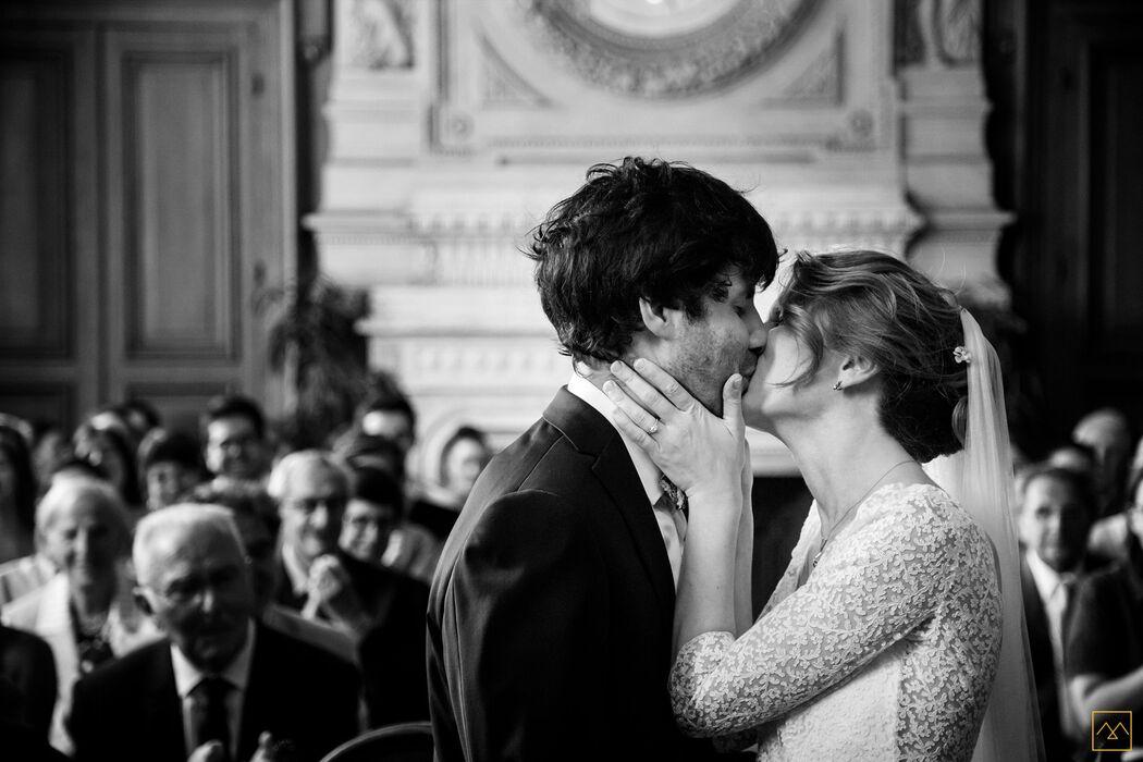 Amédézal® mariage au théâtre du Renard Paris mairie du 11e
