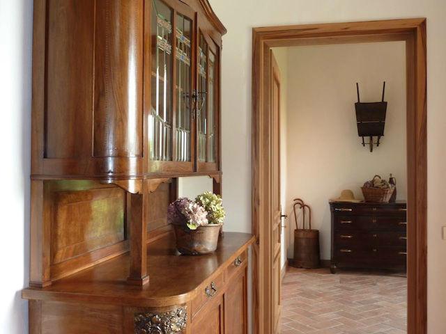 Cascina Alessi - L'ingresso Liberty della nonna Annunciata