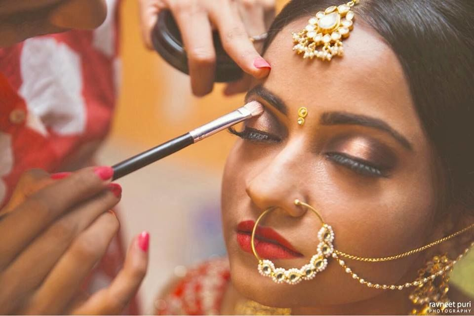Tanvi Kochar makeup & Hair