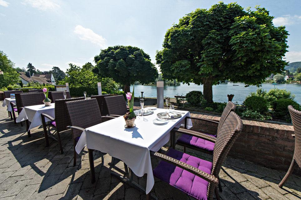 Beispiel: Terrasse, Foto: Hotel Chlosterhof.