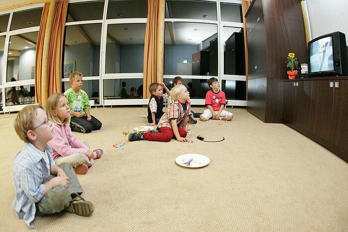 Beispiel: Kinderspielzimmer, Foto: Dämeritz Seehotel.