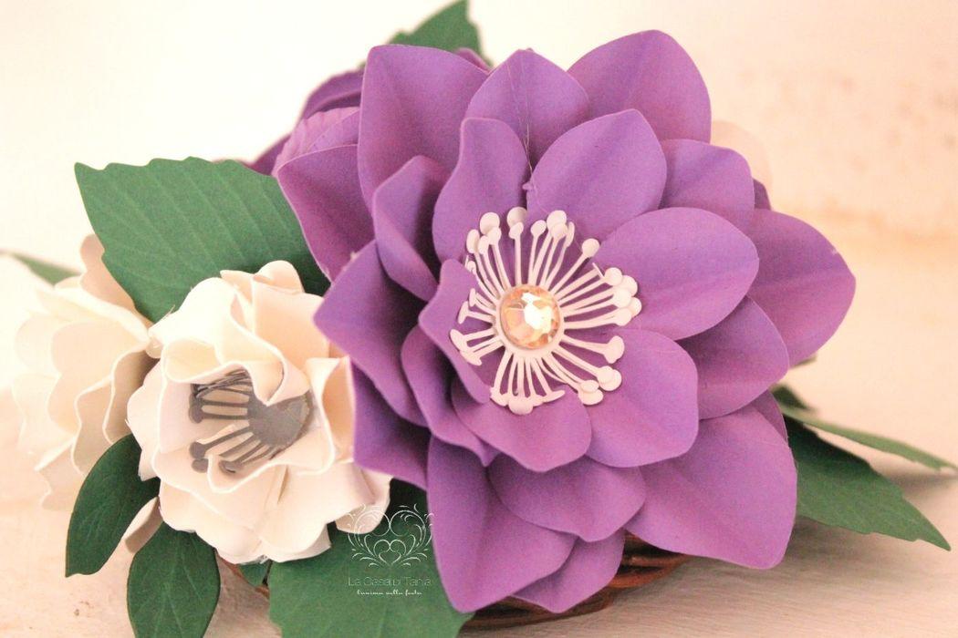 LaCasadiTania: Centrotavola floreale piccolo