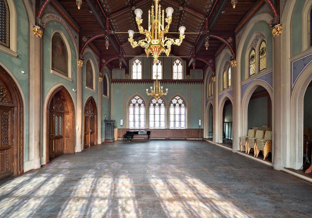 Rittersaal mit Kreuzgang und Friedgarten   DOMEVENTS