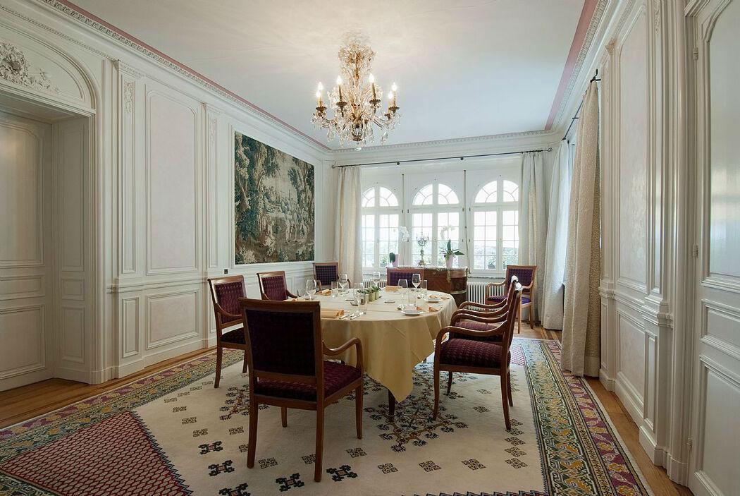 Beispiel: Räumlichkeiten, Foto: Hotel Schloss Ragaz.
