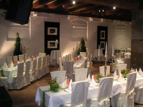 Beispiel: Hochzeitstafel, Foto: Leerer Beutel.