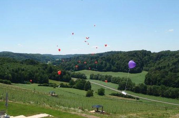 Foto: Bunte Luftballons