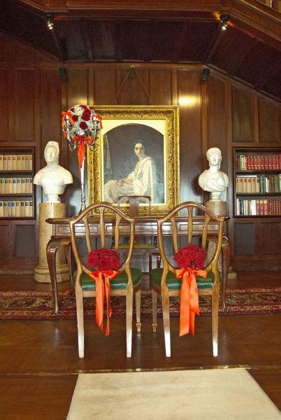 Rito civile con valore legale a Villa Claudia nella sala Cristina di Belgioioso
