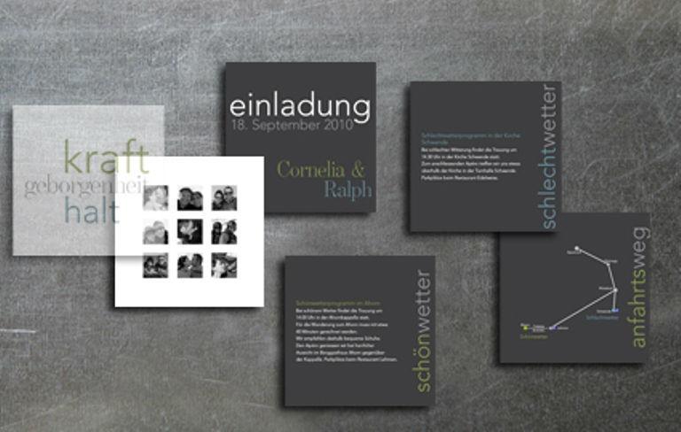 Beispiel: Hochzeitskarten Gemeinsam, Foto: tellme.