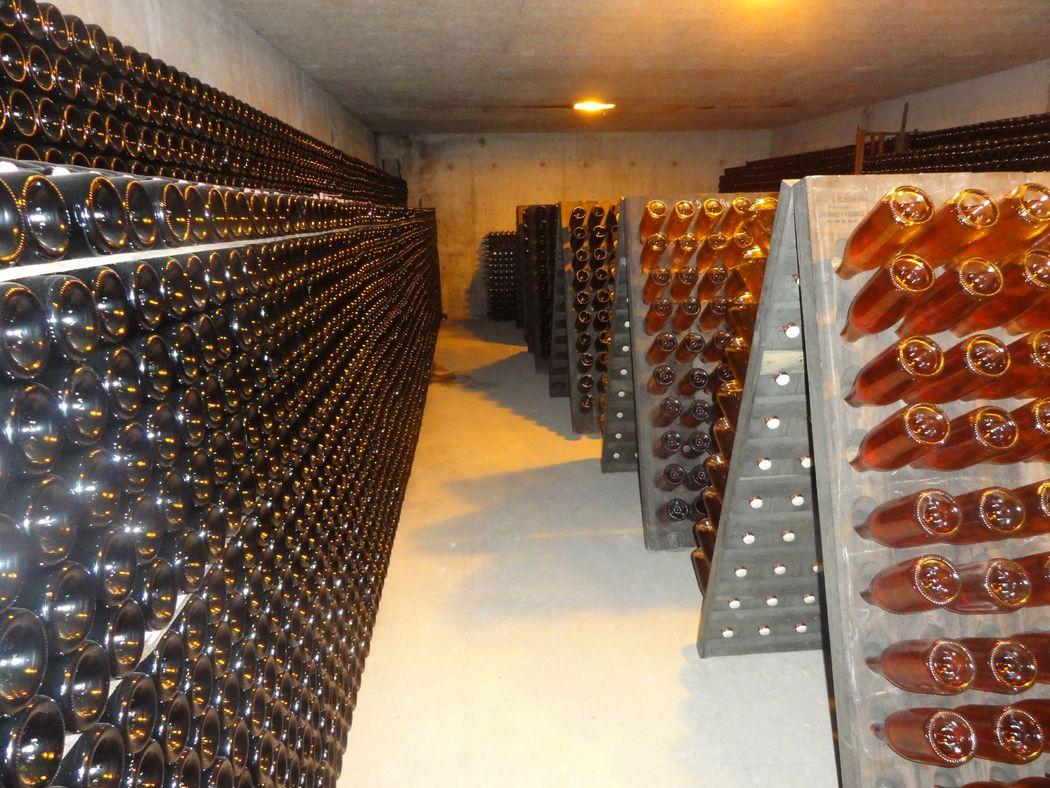 Un de nos caveaux, Champagne Bourgeois-Boulonnais