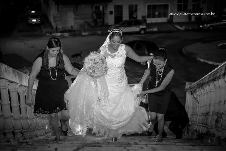 Chegada da noiva...