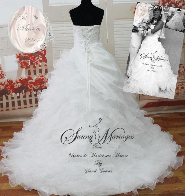 robe de mariee princesse bustier en dentelle  http://sunnymariages.com