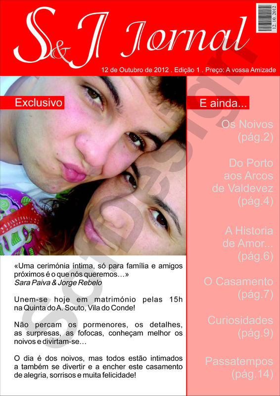 Jornal de Casamento