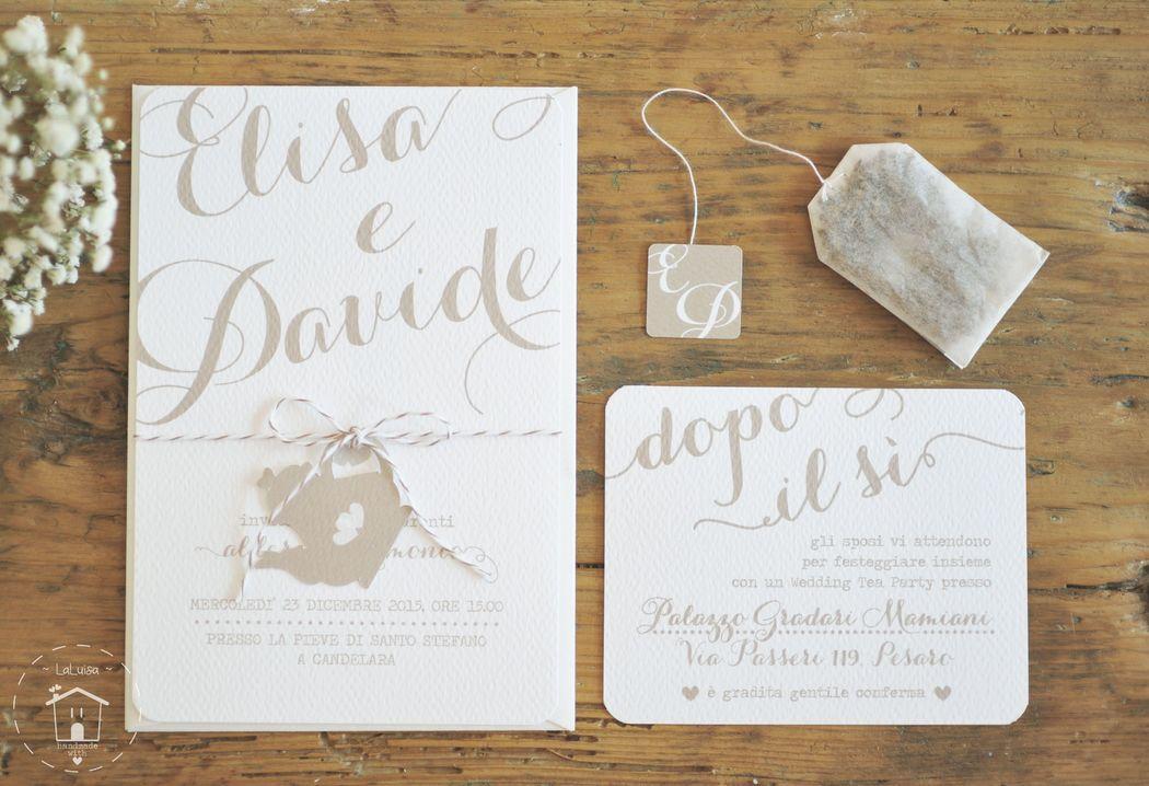 Suite grafica matrimonio tema