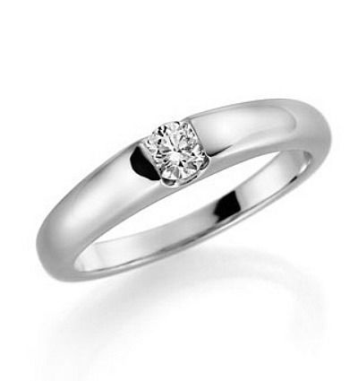 Beispiel: Verlobungsring, Foto: Juwelier Rubin.