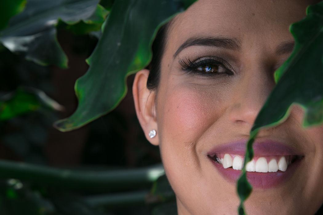Alekssandra Gómez| Maquillaje de Novia para boda por la tarde