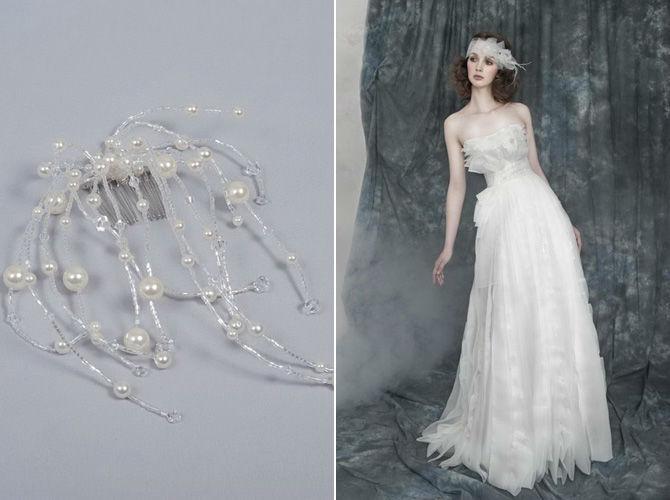 Beispiel: Accessoires für die Braut, Foto: Verinas.