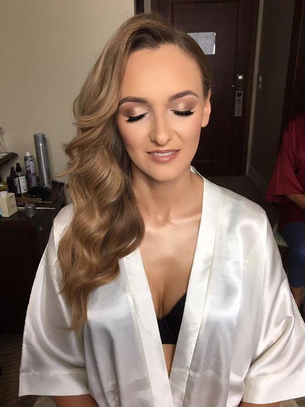 Małgorzata Smelcerz makeup