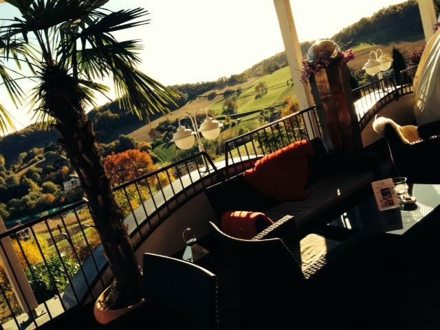 Beispiel: Terrasse, Foto: Maiers Kuschelhotel Loipersdorf Deluxe.