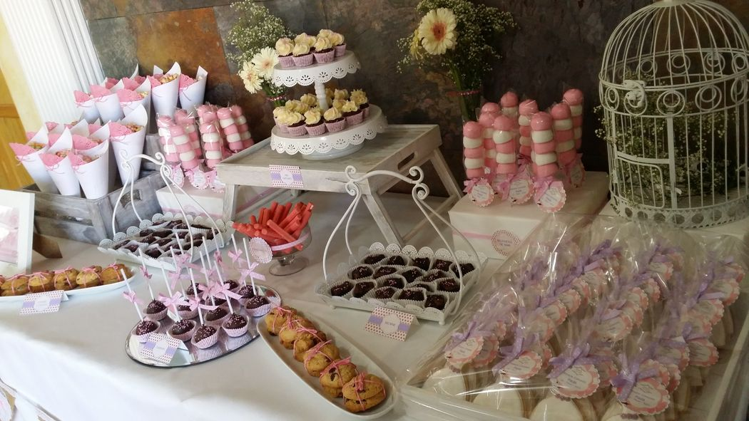 Mesa dulce comunión Paula